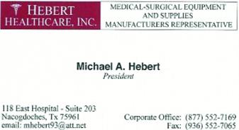 Hebert Healthcare, Inc.